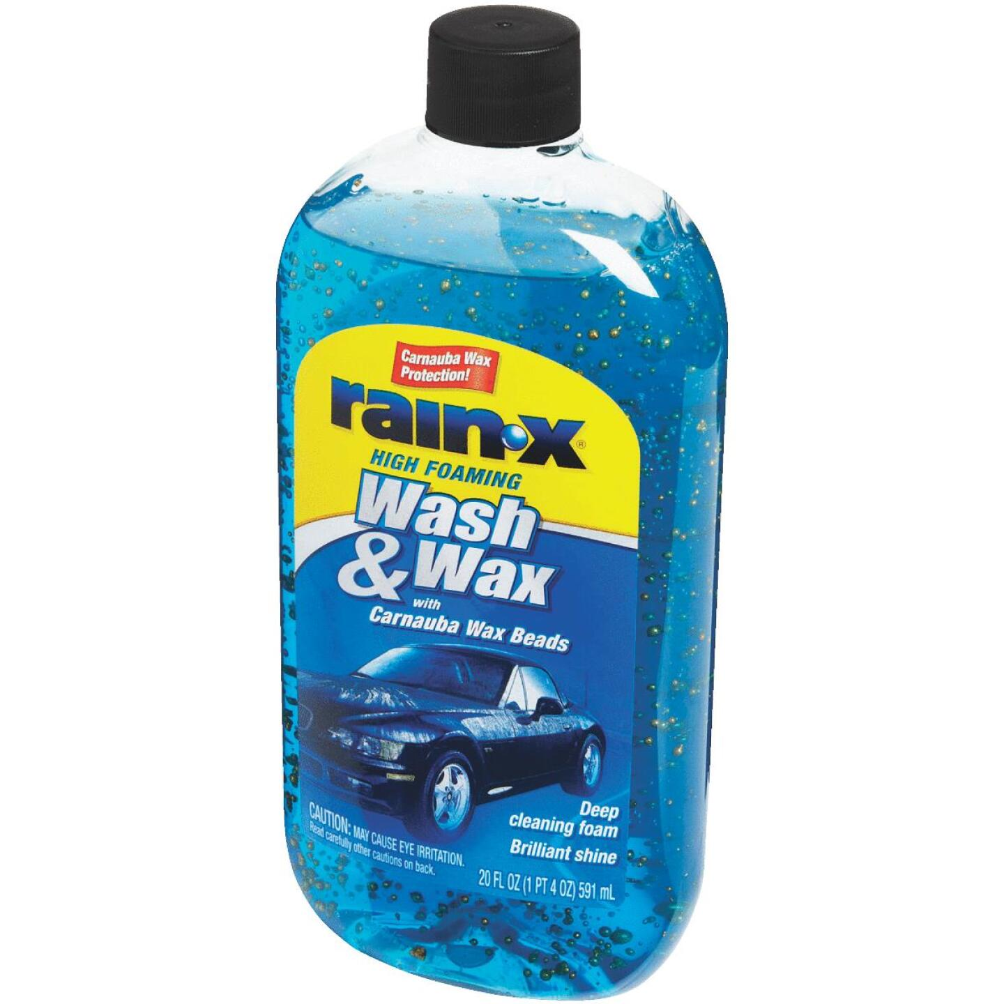 RAIN-X 20 Oz. Liquid High Foaming Car Wash & Wax w/Carnauba Wax Image 4