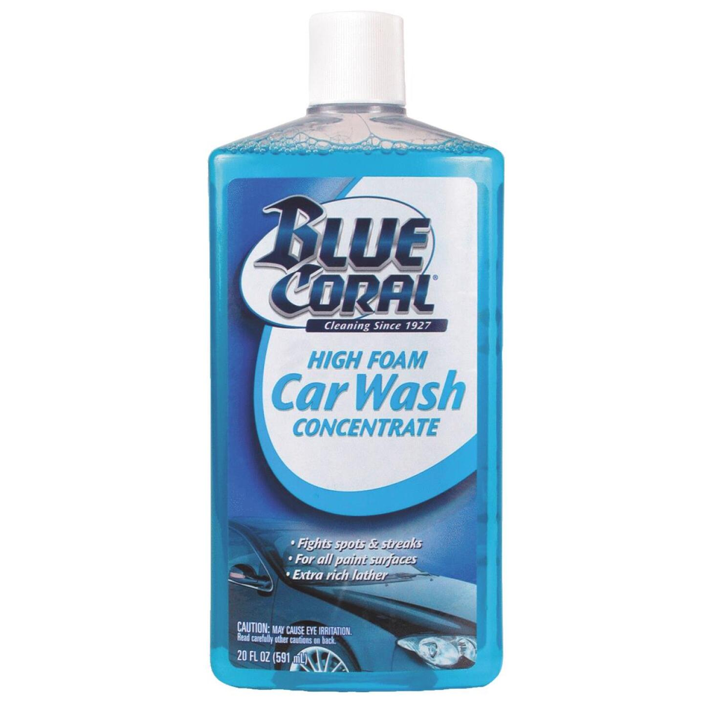 Blue Coral 20 Oz. Liquid High Foam Concentrate Car Wash Image 1