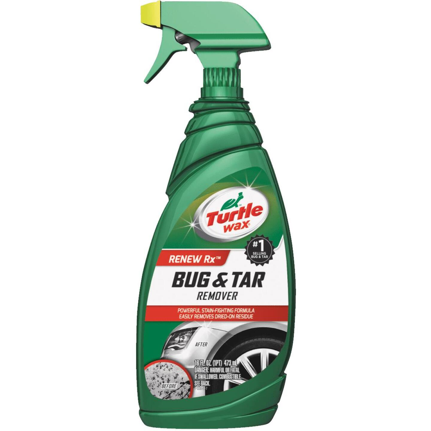 Turtle Wax RENEW Rx Bug and Tar Remover 16 Oz. Trigger Spray Bug Remover Image 1