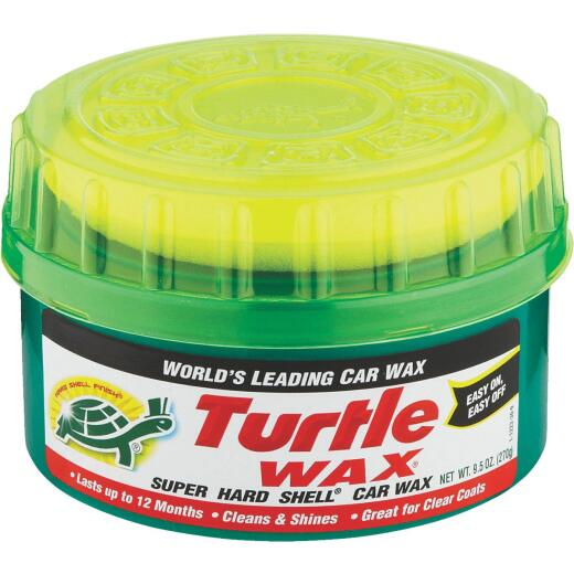 Turtle Wax Super Hard Shell Paste 9.5 oz Car Wax