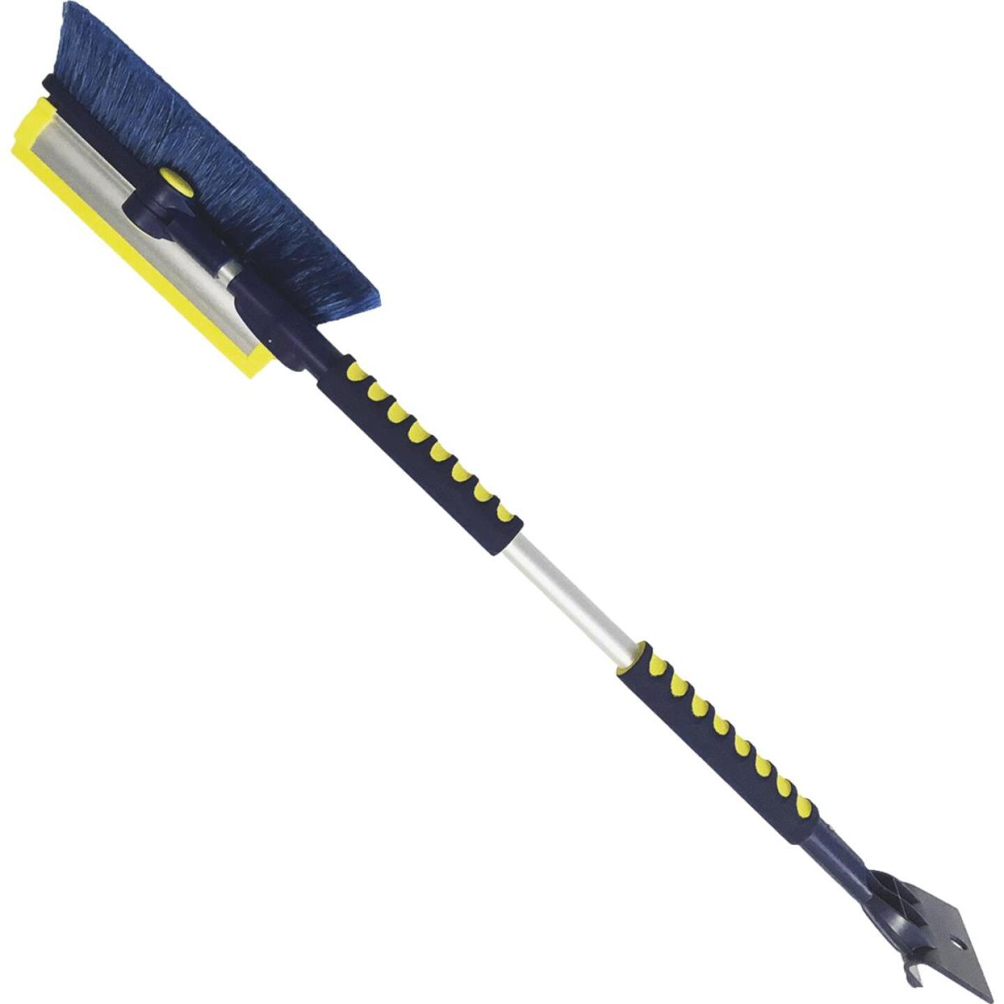 Michelin Avalanche 63 In. Steel Multi-Functional Telescopic Snowbrush and Ice Scraper Image 1