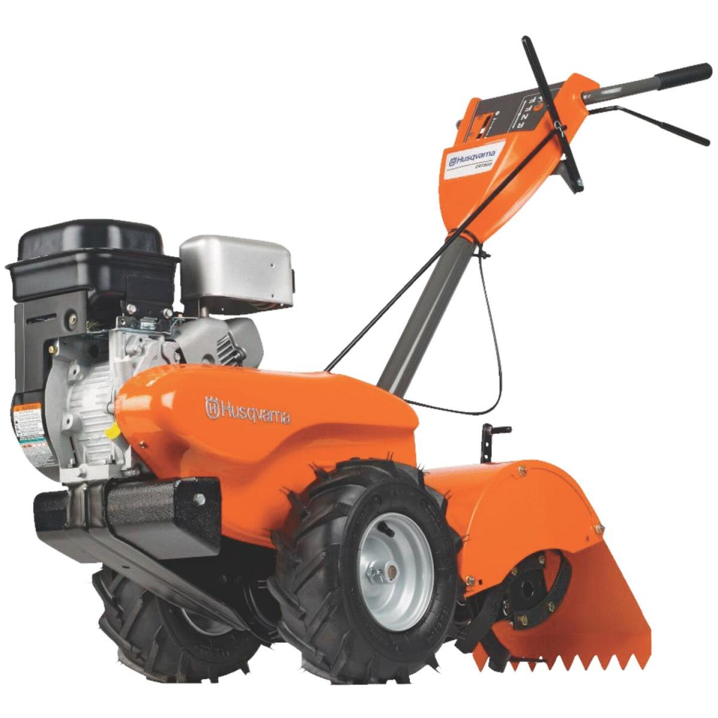 Husqvarna 14 In. 208cc Rear Tine Counter-Rotating Garden Tiller Image 1