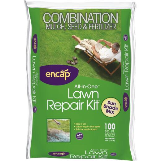 Encap 5 Lb. 100 Sq. Ft. Coverage Sun & Shade Grass Patch & Repair