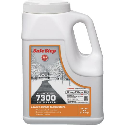 Safe Step 7300 8 Lb. Calcium Chloride Ice Melt Pellets