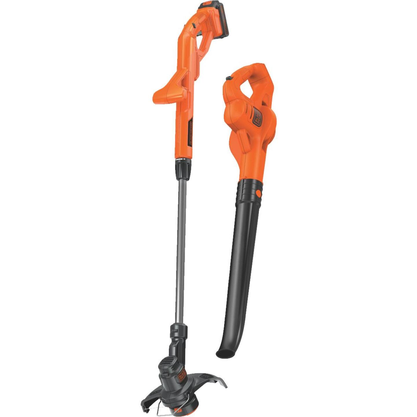 Black & Decker Max 20V String Trimmer & Sweeper Combo Kit Image 1