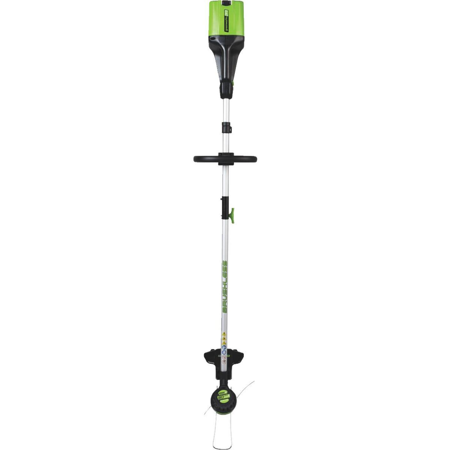 Greenworks Pro 80V 16 In. DigiPro Lithium Ion Straight Cordless String Trimmer Image 3